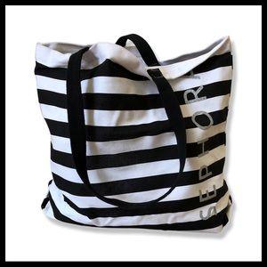 🌀Oversized Sephora Classic Stripe Tote Bag